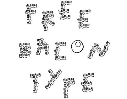 Free bacon font - Free font