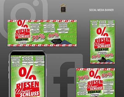 Sport Schindele - Social Media Banner