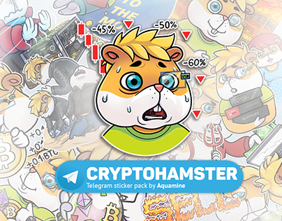 Cryptohamster stickers