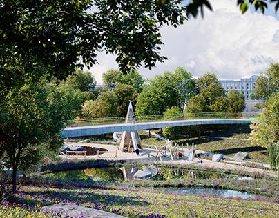 TUCHKOV park