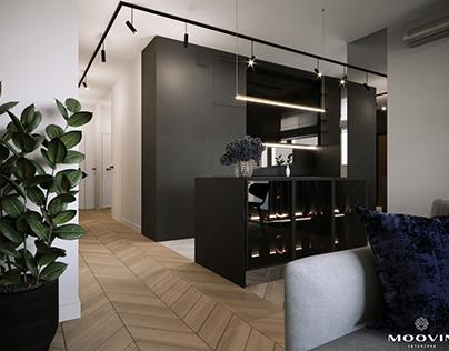 Modern apartment | Warsaw, Sobieskiego Street