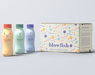 Reimagined Packaging: Blowfish Bubbles