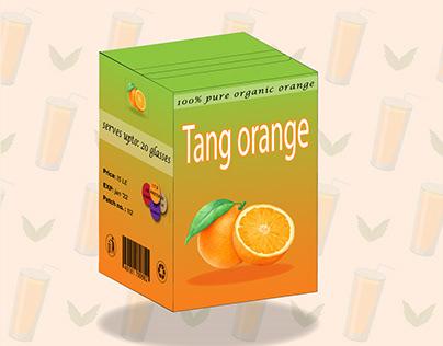 packaging - tang orange