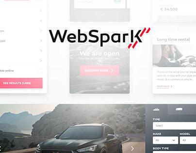 WebSparK design system