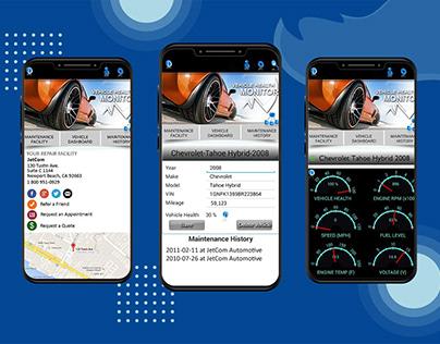 Vehicle Health Monitor Mobile App
