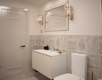 Mr. Dayal Trablus Villa - (Master Bathroom)