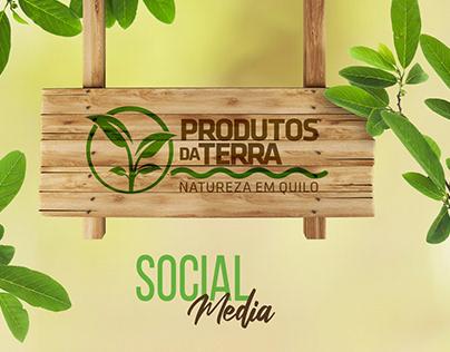 Produtos da Terra | Social Media