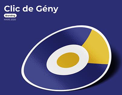 CLIC DE GÉNY | BRANDING