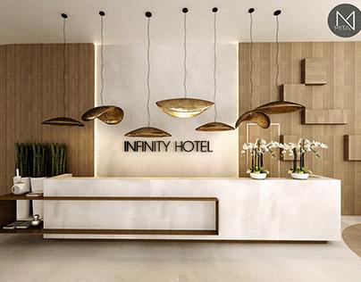 Hotel reception design - M + N Mita