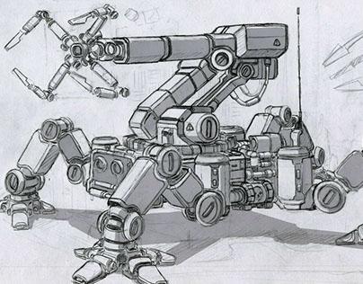Robots (sketches, part 1)