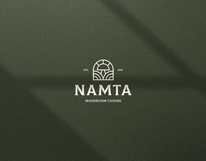 NAMTA | Mushroom Cuisine-Restaurant Identity