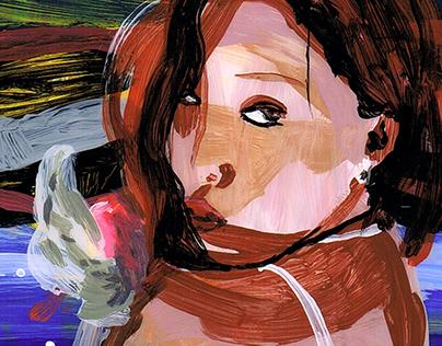 "HwaSa ""María"" Animated Scene"