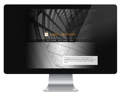 WEBDESIGN // Yousef Architekten