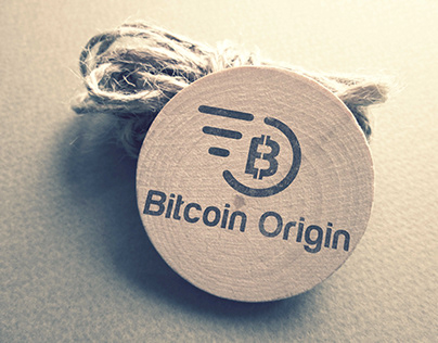 B Bit Coin Origin Company Logo