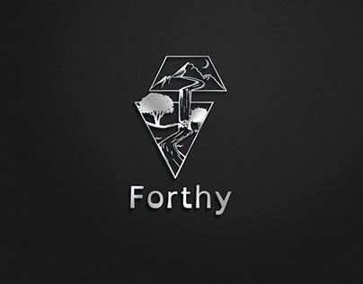 Forthy logo design