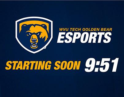 Golden Bear Esports Streaming Timer