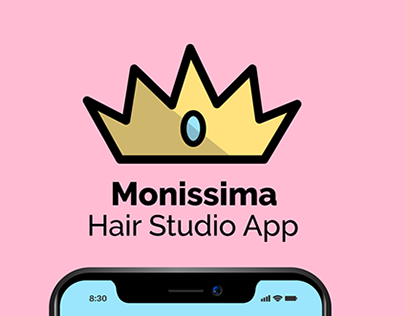 Monissima Hair Studio App