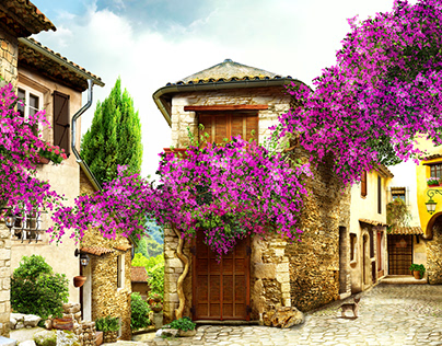 Оld town of Provence