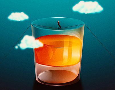 Addiction Illustration series