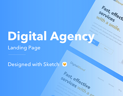 Digital Agency Hero