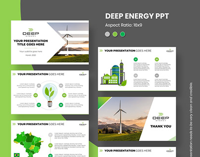 Sample 22. DEEP ENERGY PPT