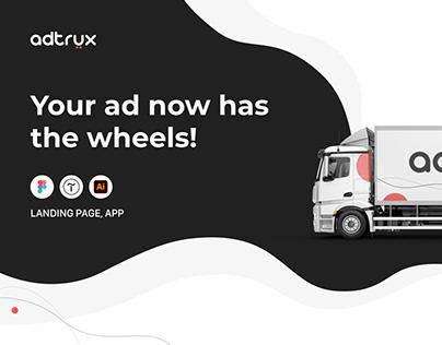 UI/UX Adtrux Car Ad Site