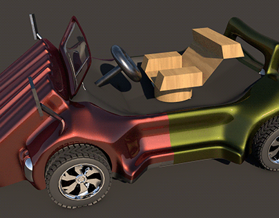 3D Car 3D Games Ten