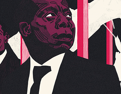 The New Yorker: Baldwin Essay Illustration