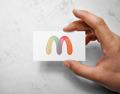 Free PSD Handheld Business Card Mockup