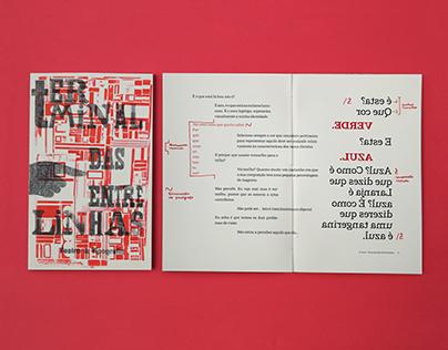 Terminal das Entrelinhas -Theatre & Typography