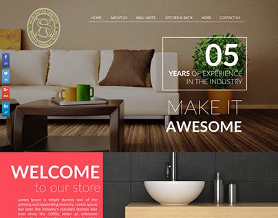 Website design for skema Inc.