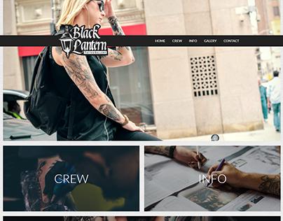 Tattoo Gallery Website Concept