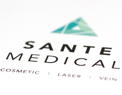 Sante Medical — logo, brand development, website