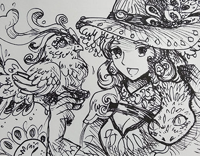 Inking Doodles
