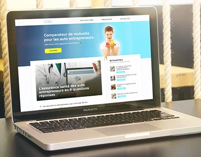 Insurance comparer website UI