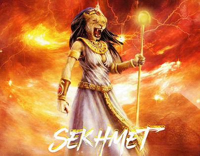 Sekhmet God of war , Plagues and desert