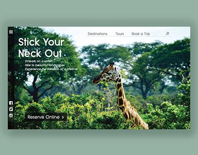 Safari UI Mockup