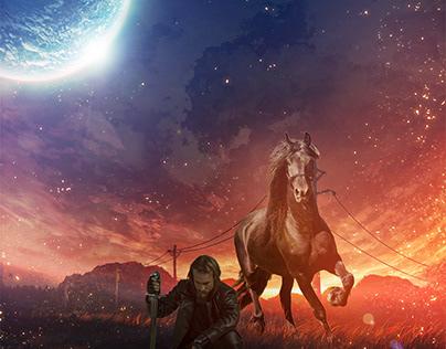 Horse photoshop manipulation