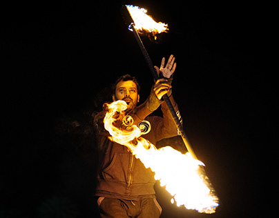 Poiboi - Fire and Pyro Performance