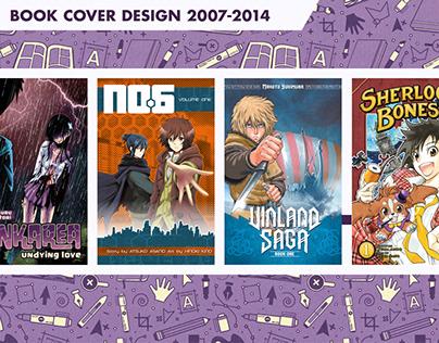 Book Cover Design 2007-2014