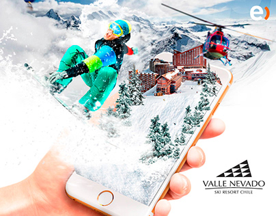 Snow Phone Entel Valle Nevado
