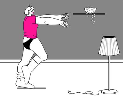 Sleepwalker Animation