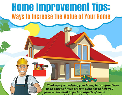 Home Improvement Tips Infographic