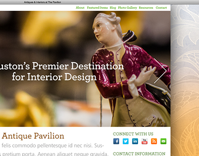 Antique Pavilion Website
