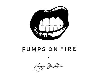 Pumps On Fire - Luxury Gold Women Shoes