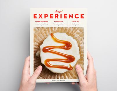 Longo's Experience Magazine Rebrand