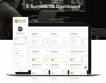 E-Summit' 19 Dashboard