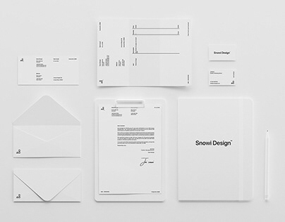 Minimal White Brand Mockup Pack - Download
