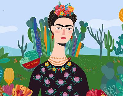 Frida Kahlo - Mulheres Fantásticas