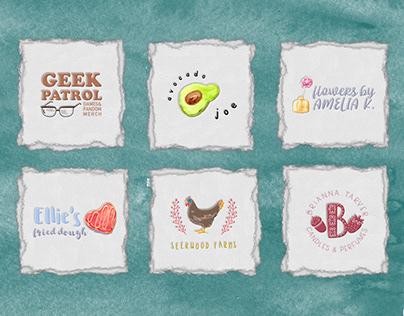 Quirky Logos   Baj Goodson Portfolio